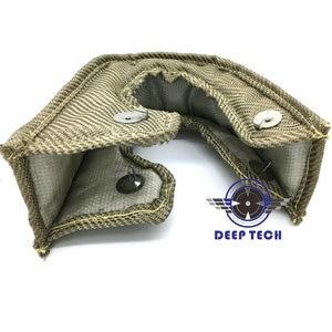 Image 2 - T3 T25 T28 Titanium Turbo Blanket With Stainless Steel Mesh Turbo Heat Shield An 5M Titanium Turbo Heat Wrap Exhaust Tape