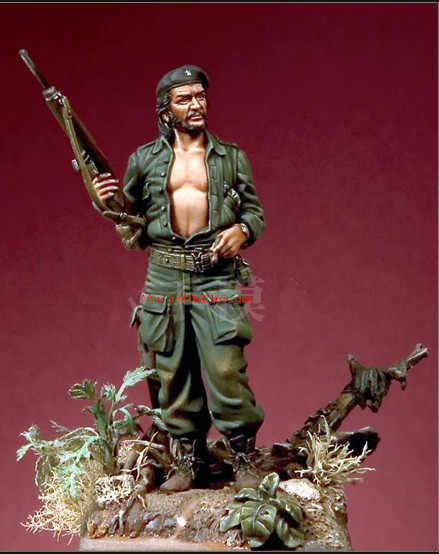 54mm Resin Model Ernesto Guevara Historical Figure Free Shipping