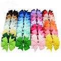 Заколка для волос MIXIU 40 шт./компл. смешанных цветов с бантом из корсажной ленты заколки для волос бутик ручной работы банты шпилька для волос ...