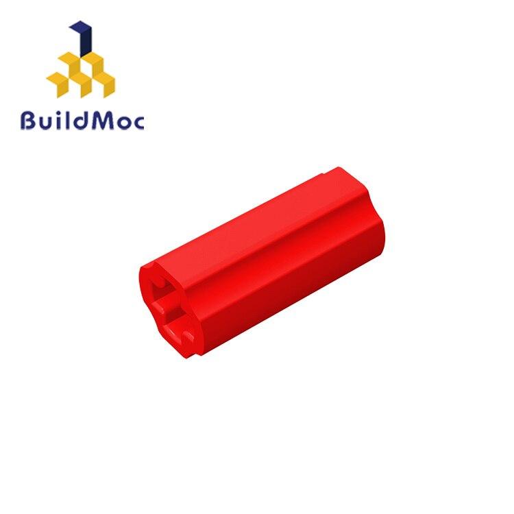 BuildMOC Compatible Assembles Particles 59443 1x2 For Building Blocks Parts DIY LOGO Educational Tech Parts Toys