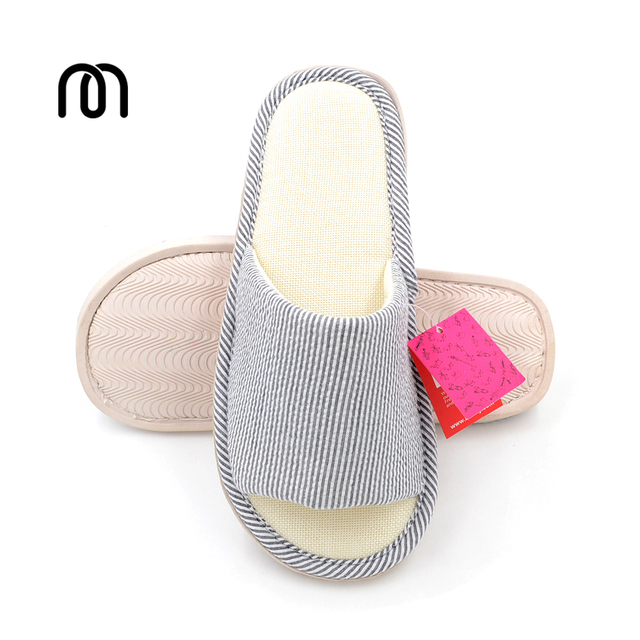 8a12bca26780bc Millffy Japanese bamboo bottom fringe couples home shoes indoor slippers  rubber bottom breathable sandals and slippers