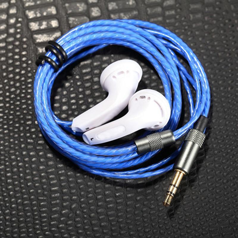 Ollivan H-MX500 G-MX500 In Ear Earphone Flat Head Plug Earplugs MX500 Stereo Headsets 3.5mm Bass DJ Earphones For iPhone 5s/6/6s sibyl m 27 stylish stereo bass in ear earphones pink 3 5mm plug 120cm cable