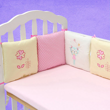 Cotton Baby Bumpers in The Crib Cot Bumper Baby Bed Protector Crib Bumper Newborns Toddler Bed Bedding Set