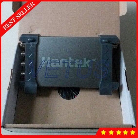 Hantek6254BD osciloscopio basado en PC portátil 4 canal osciloscopio con 250 MHz 64 K USB scopemeter generador de onda arbitraria