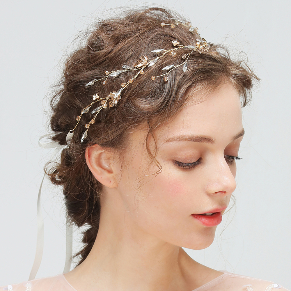 Maple Leaf Bridal Hair Vine...