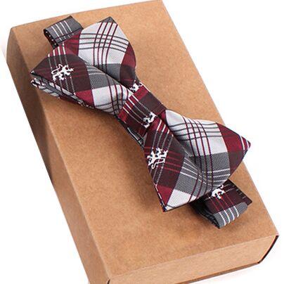 Дизайнерский галстук-бабочка, высокое качество, мода, мужская рубашка, аксессуары, темно-синий, в горошек, галстук-бабочка для свадьбы, для мужчин,, вечерние, деловые, официальные - Цвет: bow tie23