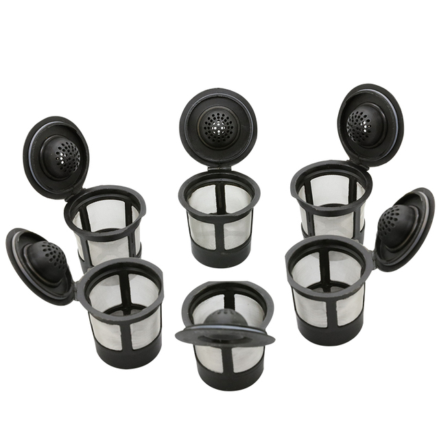 Generic 6 X Solo Coffee Pod Filters Compatible With Keurig K Cup