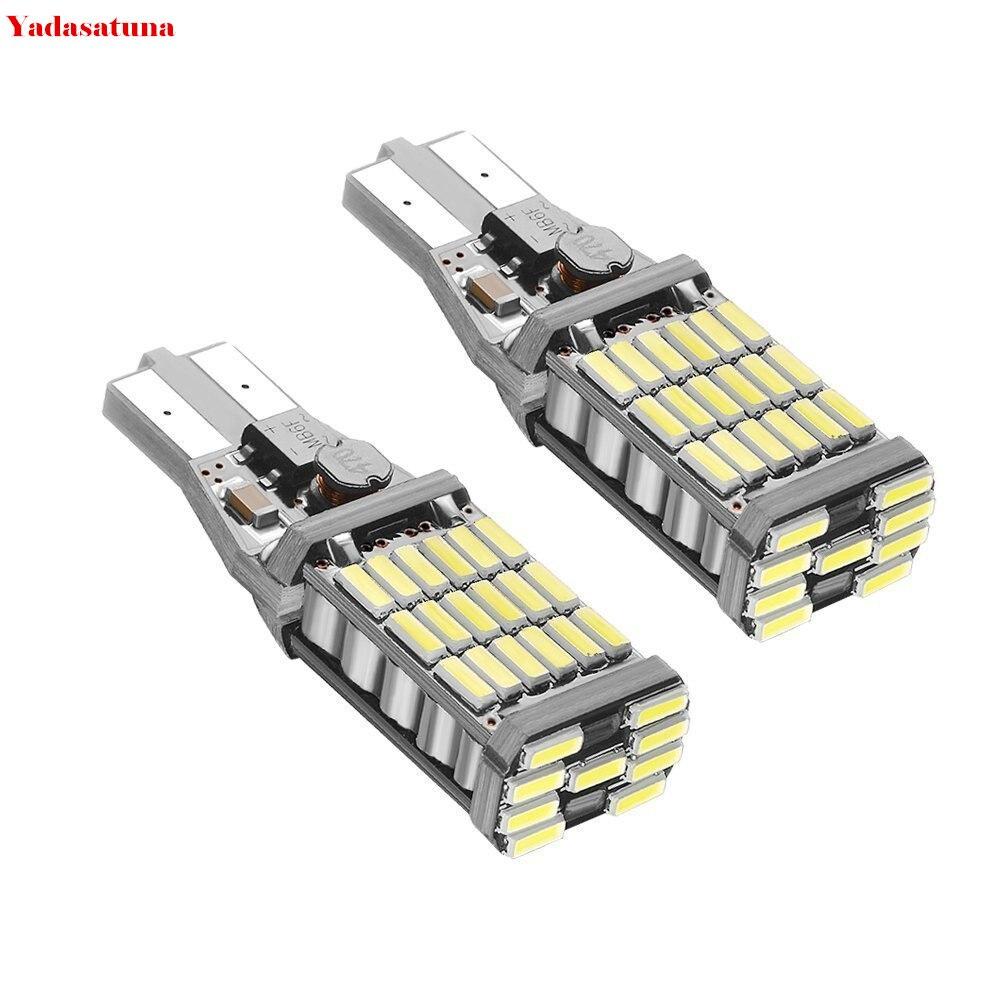 Lot de 2 chipsets Canbus 1000 lm de 45 BT 921 912 W16 W T10 T15 Ampoule светодиодсветодиодный задняя крышка 6000 K
