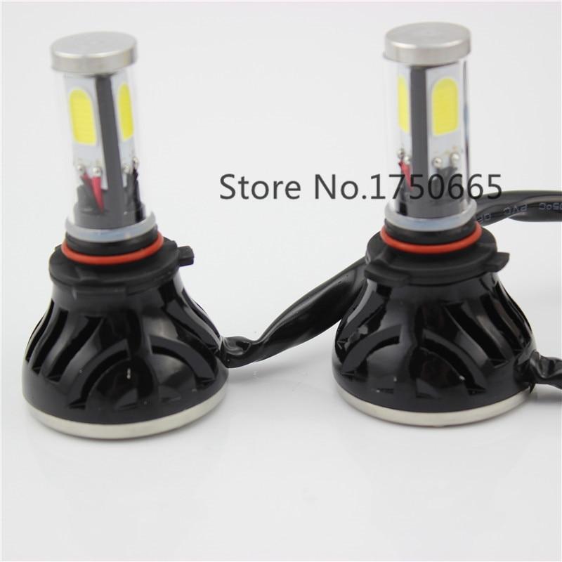 COB LED Car Headlight Bulb 9005 HB3 H10 40W High Power LED Head Fog DRL Light Lamp 12V 24V Play and Plug Replacement Bulb