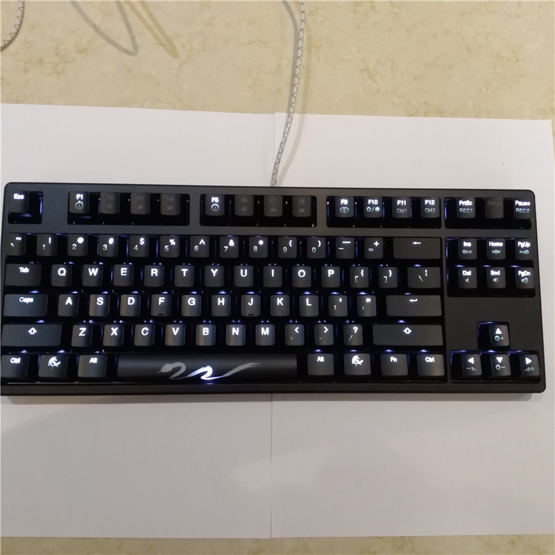 где купить backlit shine 3 mechanical keyboard ducky 9087 S3 TKL 87 gaming keyboard cherry mx brown game keyboard lighting keyboard дешево