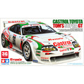 Tamiya scale models 24163 1/24 scale car TOM`S SUPRA GT assembly model building kit  plastic scale motocycle car model kits