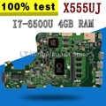 X555UJ motherboard 4G RAM I7-6500U Für ASUS X555U X555UJ X555UF F555U laptop motherboard X555UJ mainboard X555UJ motherboard