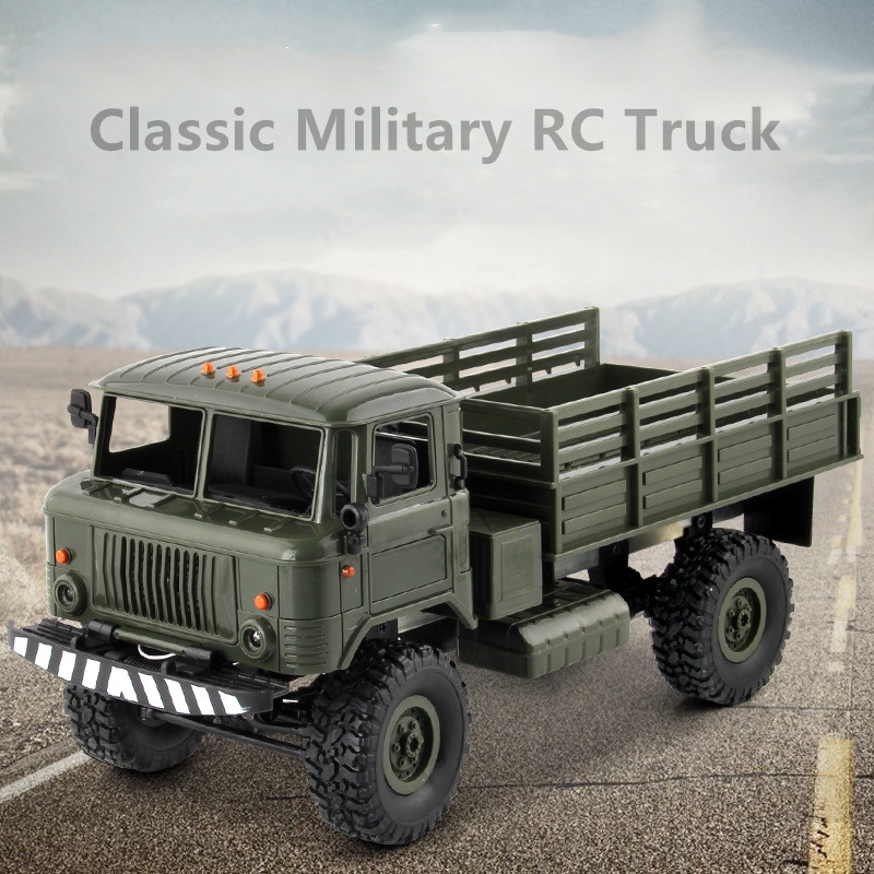 Hot 1/16 Remote Control Military RC Truck 2.4G 4WD Drive Off-Road Truck Model Remote Control Climbing Truck Gift Toy With LightHot 1/16 Remote Control Military RC Truck 2.4G 4WD Drive Off-Road Truck Model Remote Control Climbing Truck Gift Toy With Light