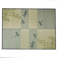 Foldable Floor Large Rug Carpet Rectangle 176x230cm Grass Rush Tatami Mat Summer Living Room Mattress Portable Oriental Carpet