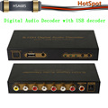 Hotspot HSA685 Digital Audio Decoder with USB decoder / also could work USB Multi-Media player