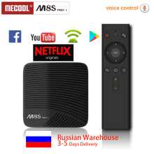 Mecool M8S pro L ТВ Android 7,1 Smart ТВ BOX Amlogic S912 64 бит Восьмиядерный 3 GB 32 GB DDR3 2.4G-5gwifi 4 K HD BT4.1 media play