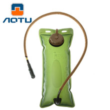 aotu Outdoor sports 2.5L drinking water bag thicker EVA riding mountaineering folding water bag water sac