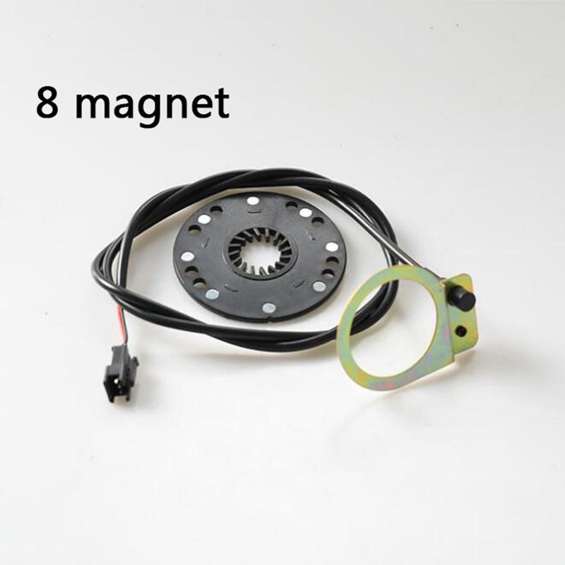 Elektryczny rower skuter pedał czujnik wspomagający E rower 5 magnes typ 8 magnes 12 magnes PAS system DIY na rower zmodyfikowane części