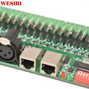 Image 5 - 30 kênh DMX 512 RGB Điều Khiển 30CH DMX RGB LED Strip Giải Mã Dimmer Điều Khiển DC9V 24V