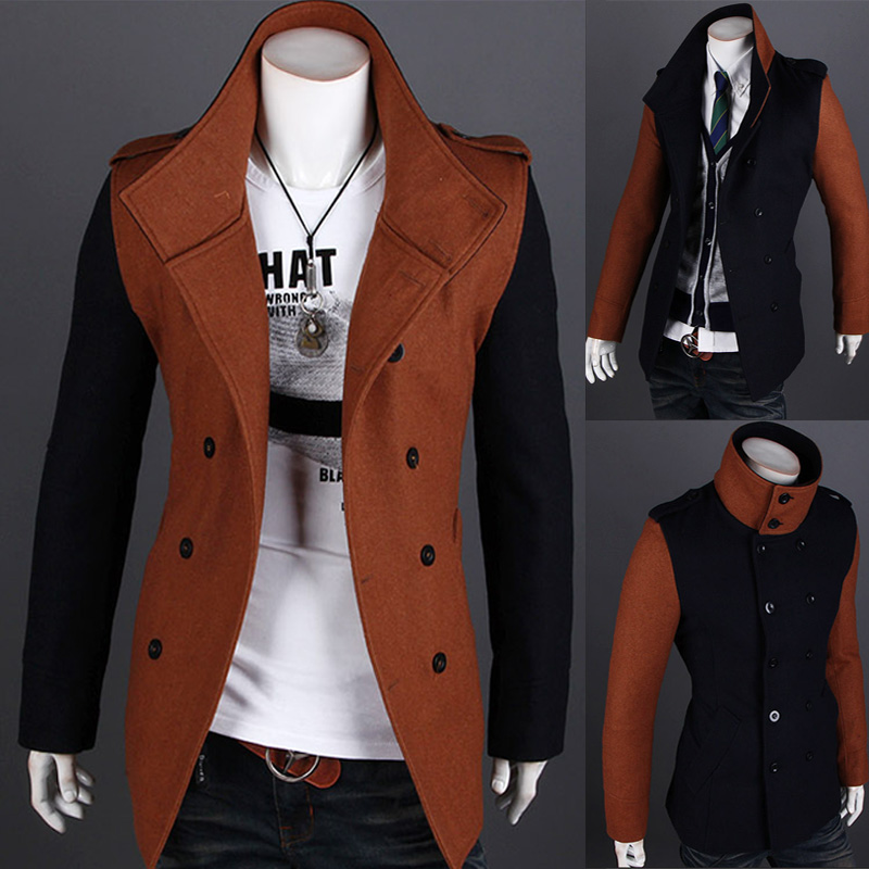 High-grade Dropshipping Menswear Dance Club Fashion Top Coat Mens Casual Suit Blazers Slim Masculino Suit Double Button Jacket