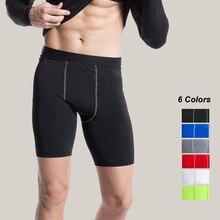 Спортивные мужские шорты для баскетбола, фитнеса, тренировок, обтягивающие шорты для бега, компрессионные быстросохнущие мужские шорты