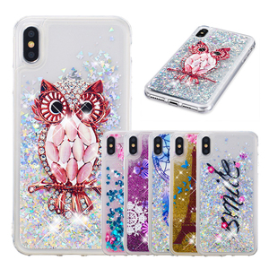 Quicksand Glitter Star Flowing Liquid Case For iPhone XS Max XR X 4 4S 5 5S SE 6 6S 7 8 Plus touch 5 6 Clear Soft TPU Cover B31