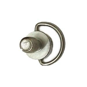 Image 2 - Винты с D образным кольцом 10 шт./лот 1/4 дюйма для штатива цифровой зеркальной камеры с быстроразъемной пластиной