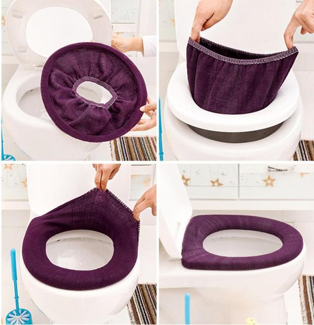 Caldo Igienica Morbida Sedile Coperchio Coperchio Pad Bagno Closestool Protector