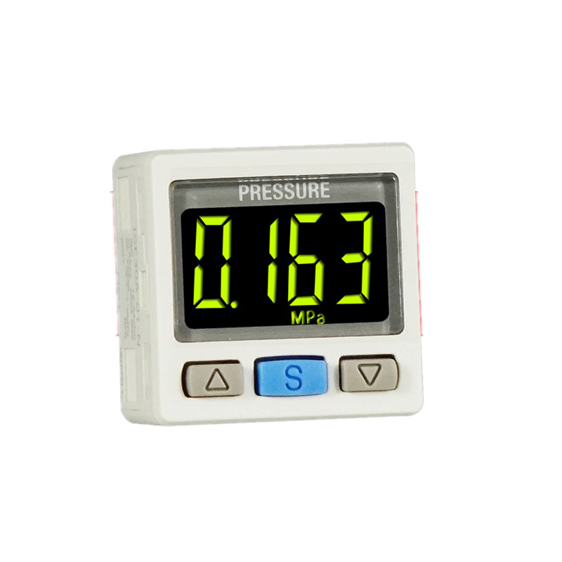 ZSE/ISE30A ZSE30AF Digital Electronic Pressure Switch Digital Pressure Gauge With Wire