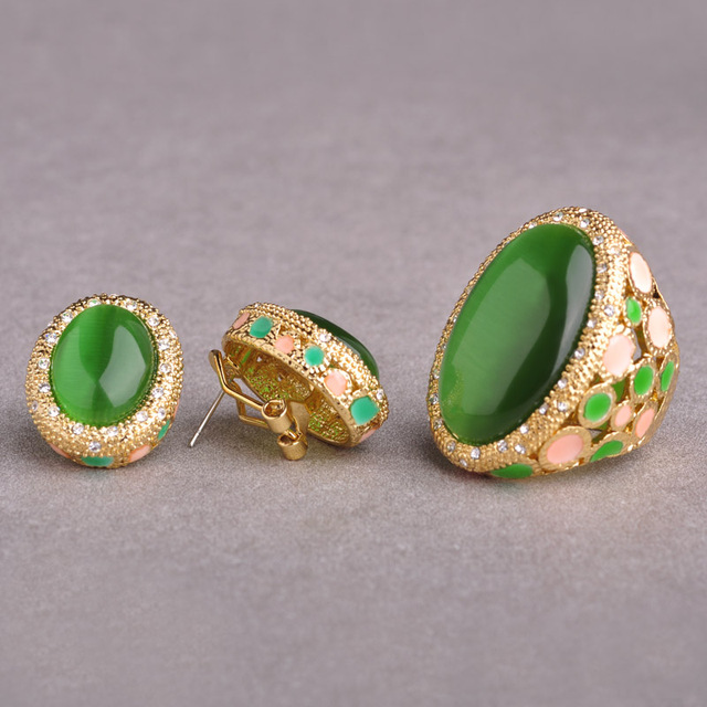 Angelique-Big-Green-Opals-Jewelry-Sets