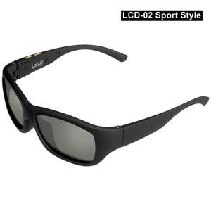 Image 2 - Eletrônico ajustável escurecimento óculos de sol lcd design original lentes polarizadas de cristal líquido fornecimento direto da fábrica transporte da gota