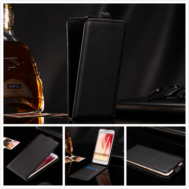 flip vertical cover bag flip up and down PU Leather Case for Oukitel U7 Max U16