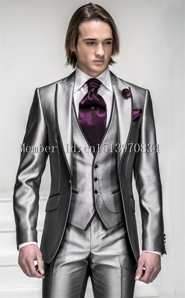 Online Get Cheap Black Tuxedo with Silver -Aliexpress.com ...