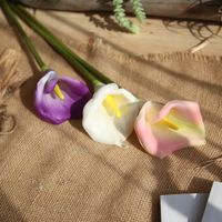 Hot Sale European Style Calla Colorful Decorative Party Flowers For Home Hotel Wedding Office Garden Decor