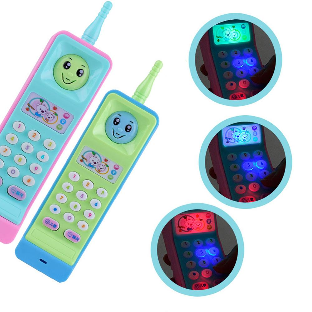 New Cartoon Music Colorful Light Voice Electronic Mobile Pho
