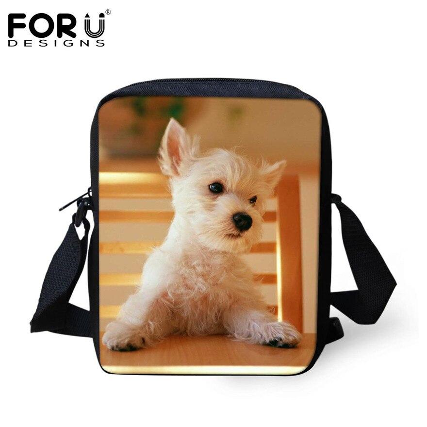 FORUDESIGNS/женская маленькая сумка через плечо с объемным рисунком собаки чихуахуа, модные женские сумки-мессенджеры, сумки через плечо - Цвет: H180E
