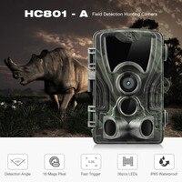 Outlife HC 801A Hunting Camera 16MP 1080P IP65 Night Vision Hunting Trail Camera Waterproof Wildlife Photo Trap Camera