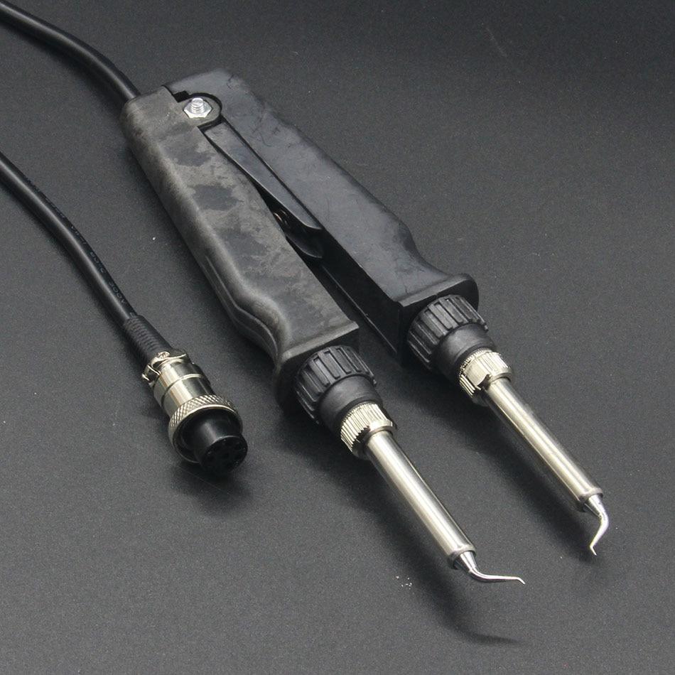 Soldering Station Accessories Heating Pliers Handle 7 Pin For GORDAK 902 ESD SMD Soldering Tweezer