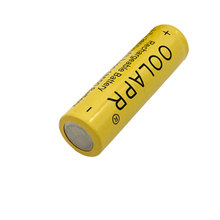OOLAPR 5 X 18650 Rechargeable battery 2600mah 3.7V li-ion Battery Free Shipping-YELLOW