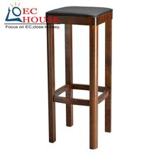 simple European willow wood are home bar chairs wooden chair stool FREE SHIPPING