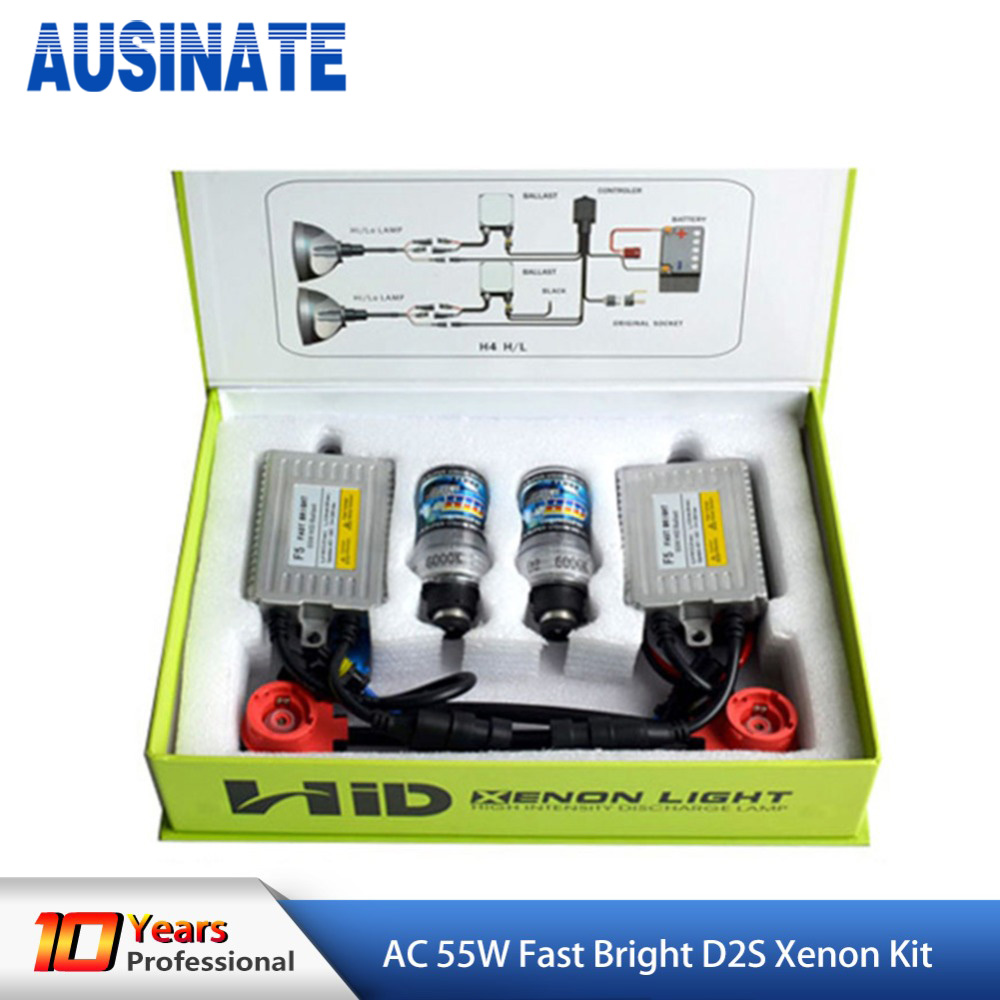 D2S D2C xenon Lamp F5 AC 55W 12V HID kit D2C D2S , 4300K 5000k 6000K 8000k for Auto hid kit 2pcs 35w hid d2 d2s d2c xenon lamp d2s xenon replacement bulb d2s 4300k 5000k 6000k 8000k 10000k 12000k car auto led headlights