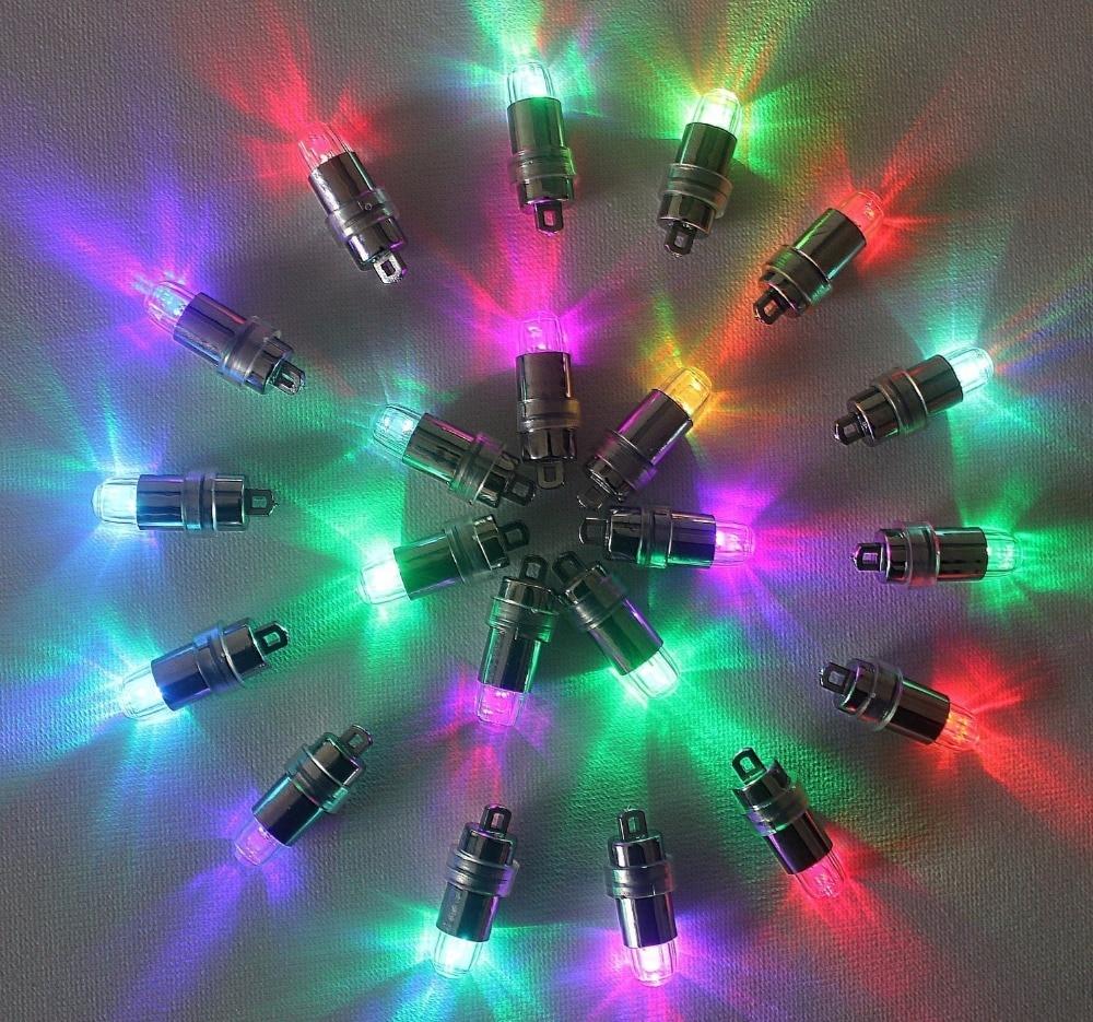 10pcs Night Light Small Battery Operated Waterproof Led