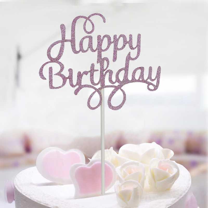 1 pc flash em pó preto amor bolo de papel festa de férias bonito decorações de aniversário bunting fontes do casamento do feriado kawaii