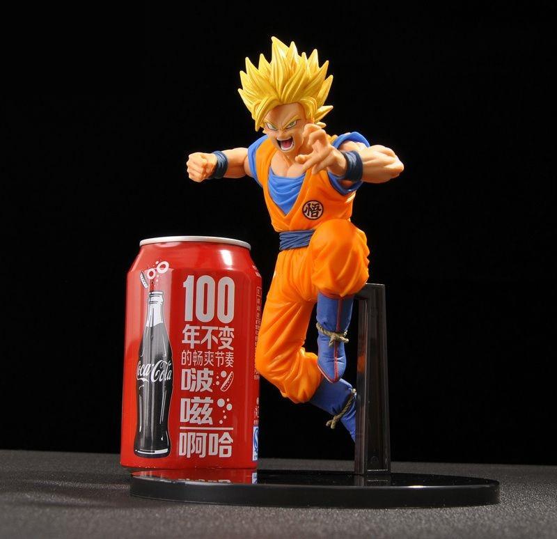 Dragon Ball Z Super Saiyan 3 Son Gokou Figure DXF Kakarotto Figure SCultures Big Dragon Ball Z PVC Action Figuras Model