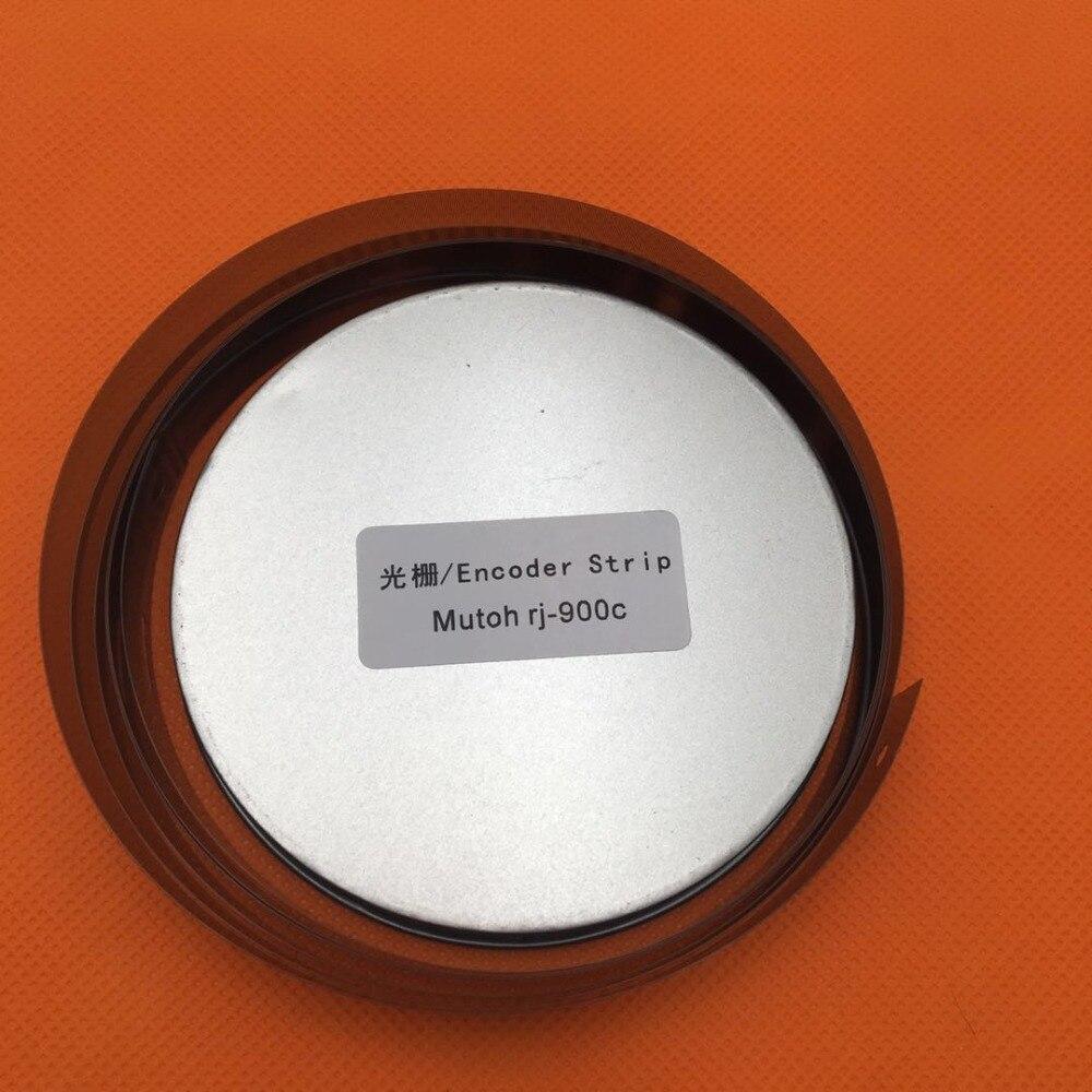 Tira del codificador mutoh rj-900 rj-900c rj900 rj900c 900 900c impresora plotter sensor codificador tira raster película con agujero de inyección