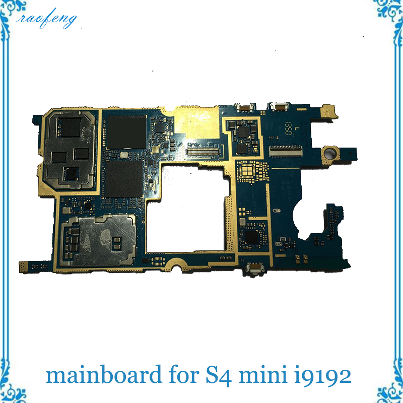 Raofeng Unlocked mainboard for Samsung galaxy S4 mini i9192 motherboard full function  with  chips Logic Board(China)