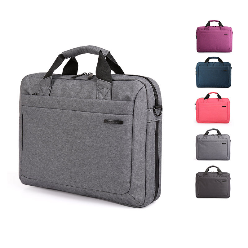 Brand Waterproof 12 13.3 14.1 15.6 inch Notebook Computer Laptop Bag for Kingsons Men Women Briefcase Shoulder Messenger Bags