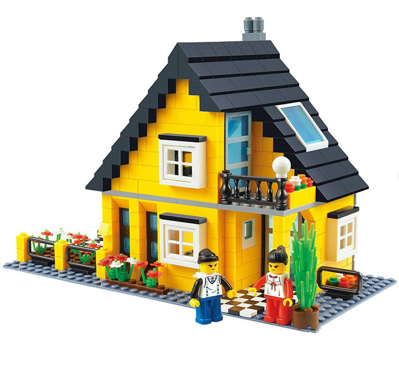 Wange Building Blocks Compatible with Lego W32052 458P Models Building Kits Blocks Toys Hobby Hobbies For Chlidren