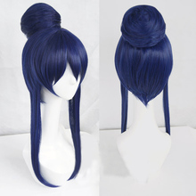 Anime Love Live! LoveLive! Umi Sonoda Blue Mix Purple Hair Cosplay Wig Heat Resistance Synthetic Hair Wigs Free Shipping