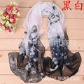 Ladies present free shipping sent  Winter Scarves Women Brand  Scarfs Designer Cotton shawls Scarf Chiffon scarves wholesale